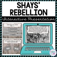 Shays' Rebellion Interactive Google Slides™ Presentation | Distance Learning