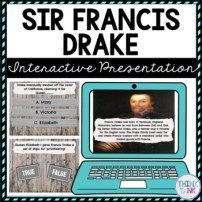 Sir Francis Drake Interactive Google Slides™ Presentation | Distance Learning