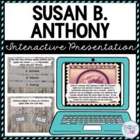 Susan B Anthony Interactive Google Slides