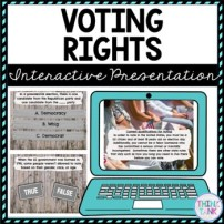 Voting Rights Interactive Google Slides™ Presentation | Distance Learning