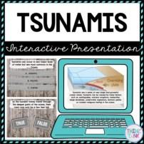 Tsunamis Interactive Google Slides™