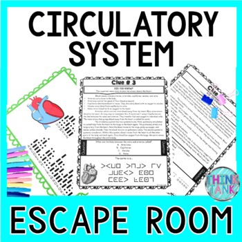Circulatory System ESCAPE ROOM