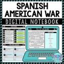 Spanish American War DIGITAL Interactive Notebook   Choice Board