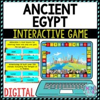 Ancient Egypt Review Game Board | Digital | Google Slides | Ancient History