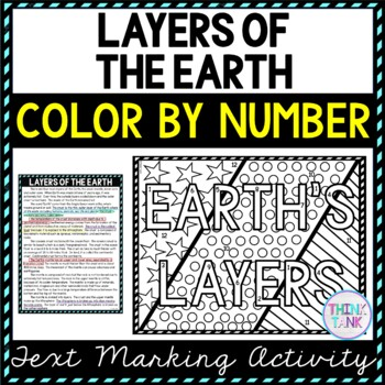 Layters of Earth lesson plan picture
