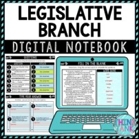 Legislative Branch Activity