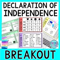 Declaration of Independence Educational Activity