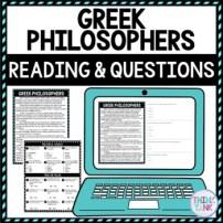Greek Philosopher Activity