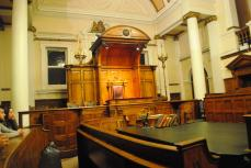 View from the witness boxes (to the front)