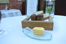 House Sourdough and Treacle Muffins with Lincolnshire Butter