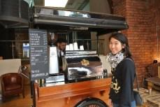 Indoor Coffee Cart
