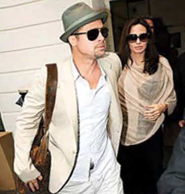 Brad and Angie go Jamah.