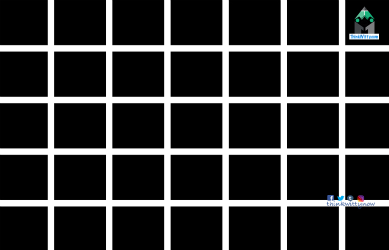 Optical Illusion thinkwitty.com - hermann-grid-illusion