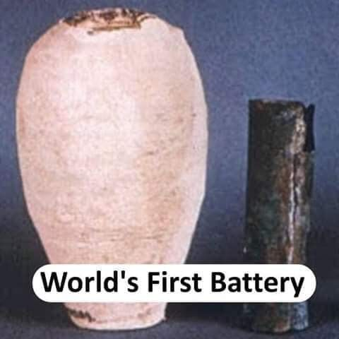 World's first Battery - thinkwitty.com