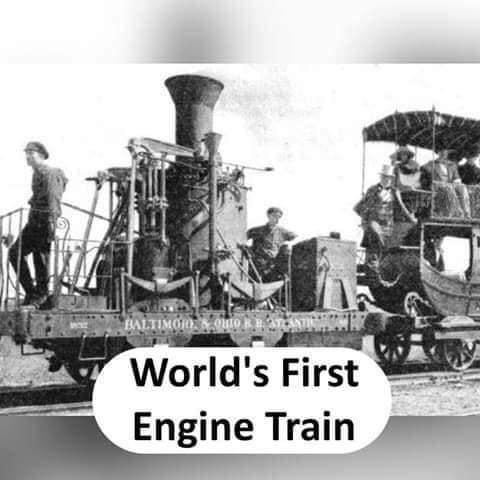 World's first Engine Train - thinkwitty.com