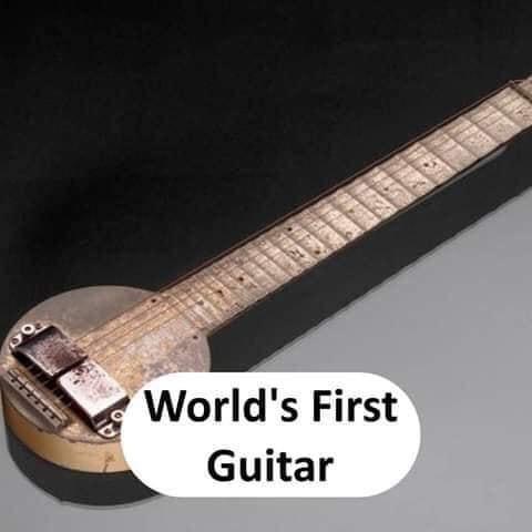 World's first Guitar - thinkwitty.com