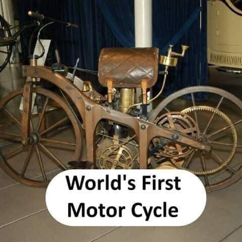 World's first Motor Cycle - thinkwitty.com