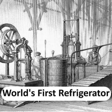 World's first Refrigerator - thinkwitty.com