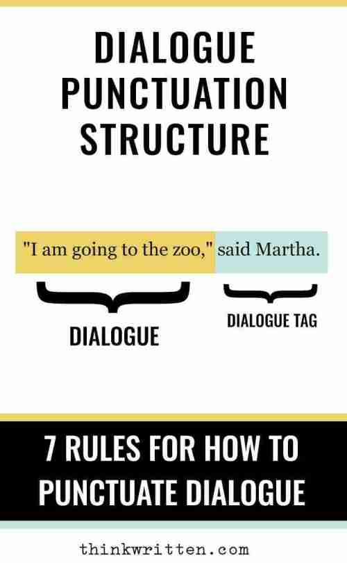 small resolution of 7 Rules of Punctuating Dialogue: How to Punctuate Dialogue Easily