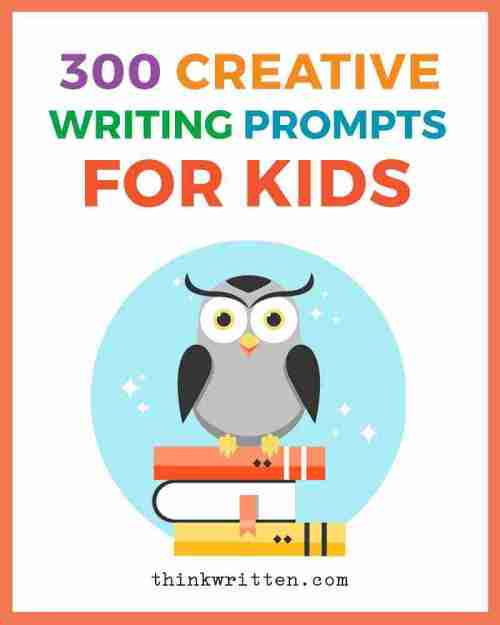 small resolution of 300 Creative Writing Prompts for Kids   ThinkWritten