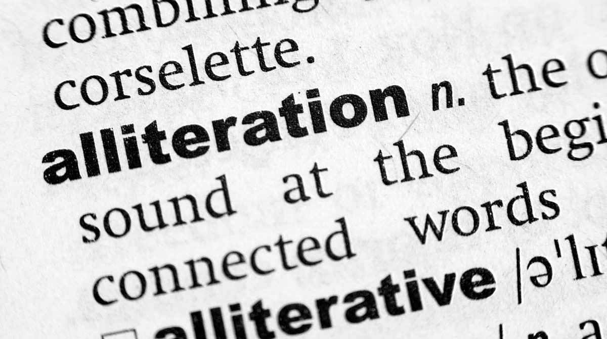 What is Alliteration? Examples for Using it in Your Writing