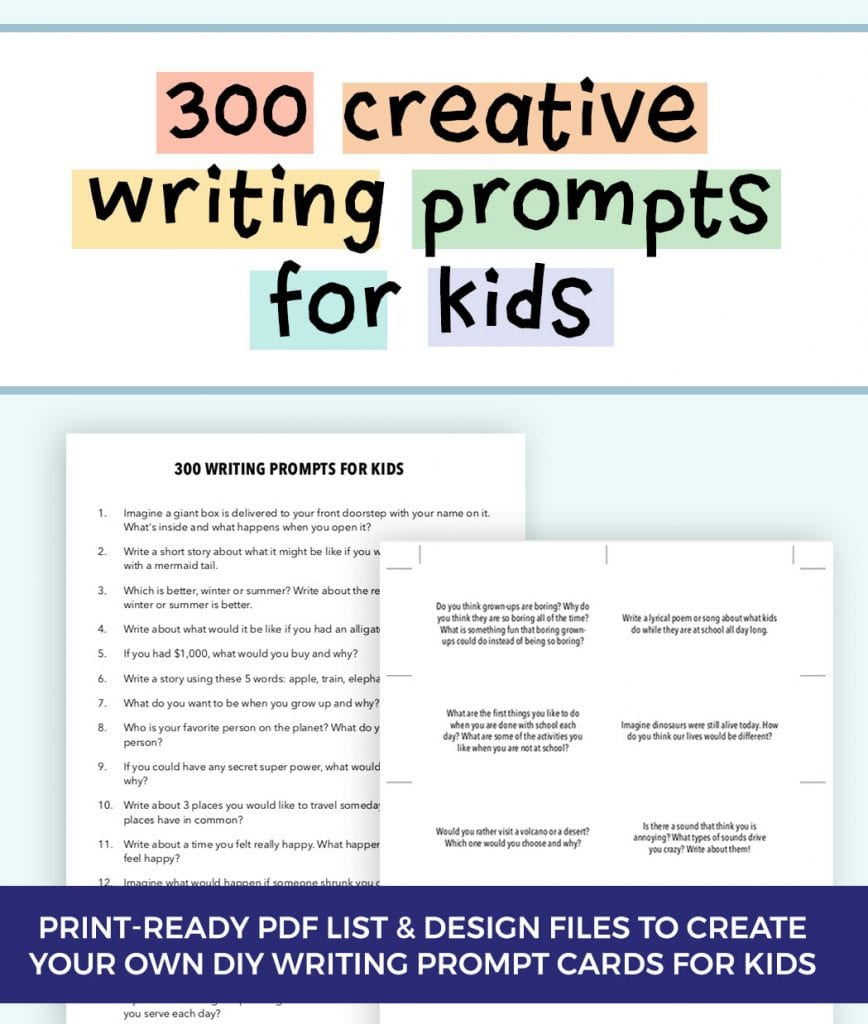 hight resolution of 300 Creative Writing Prompts for Kids   ThinkWritten