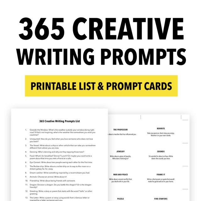 17 Creative Writing Prompts - ThinkWritten