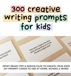 300 Creative Writing Prompts for Kids   ThinkWritten [ 1000 x 1000 Pixel ]