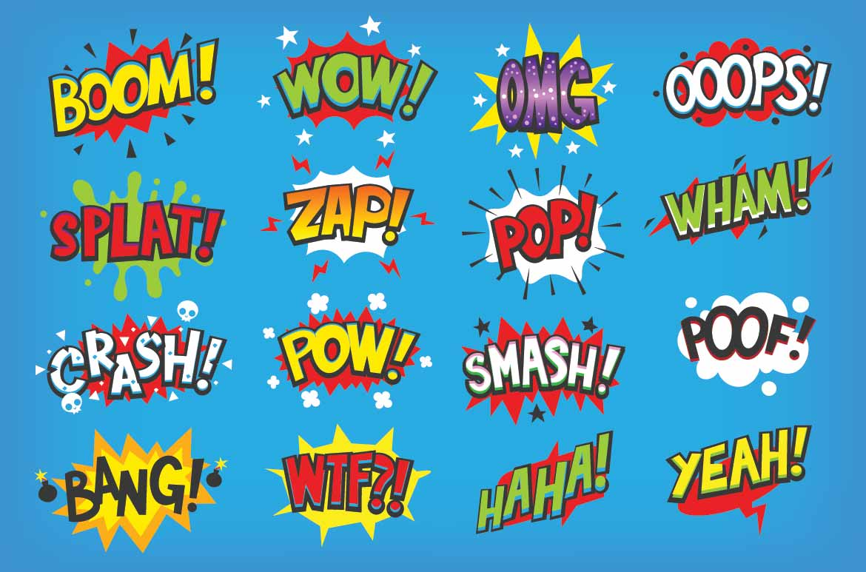 Onomatopoeia Words List Amp Examples