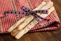 Recipe for homemade breadsticks