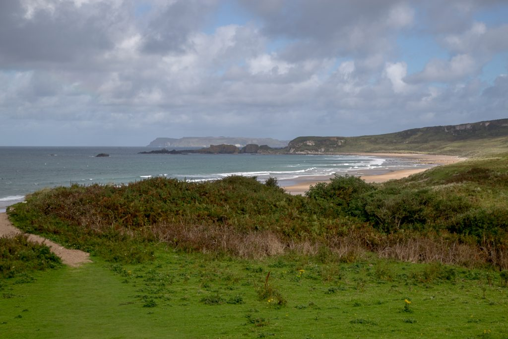Whitepark Bay beach