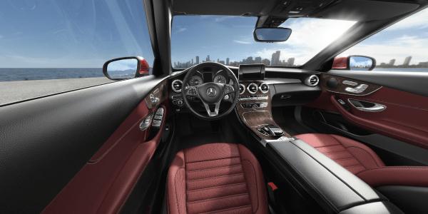 2018 C-Class Cabriolet interior