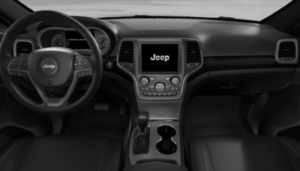 2018 Jeep Grand Cherokee interior