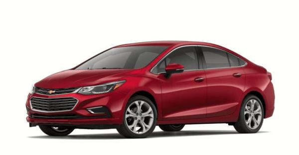 2018 Chevrolet Cruze exterior