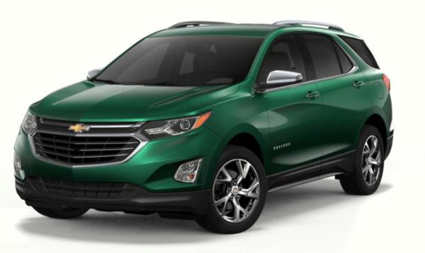 2018 Chevrolet Equinox exterior