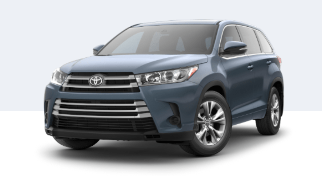 2018 Toyota Highlander exterior front