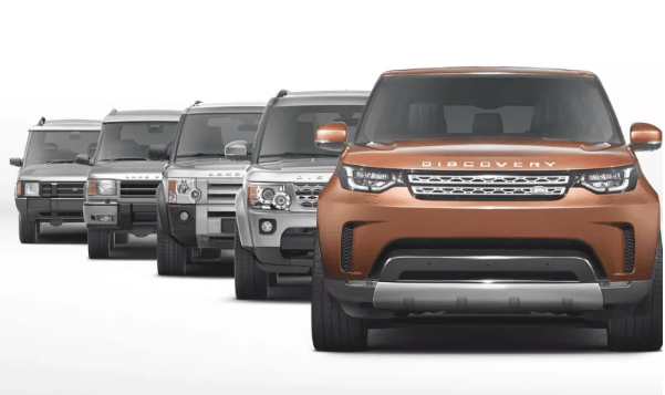 Design Analysis: 5 Generations of Land Rover Discovery