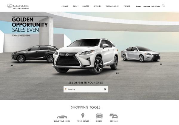 Lexus now