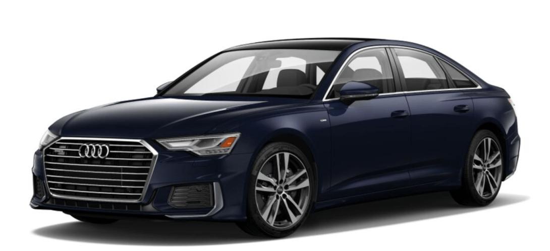 2019 Audi A6 exterior front