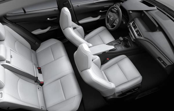2019 Lexus UX interior Birch NuLuxe