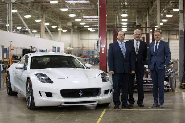 VLF Automotive Bob Lutz, Gibert Villarreal, Henrik Fisker