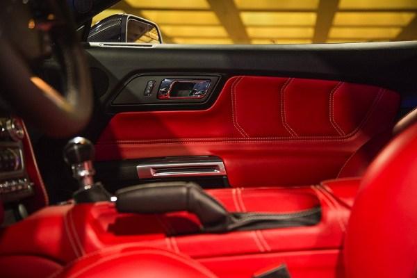 VLF Rocket V8 interior door