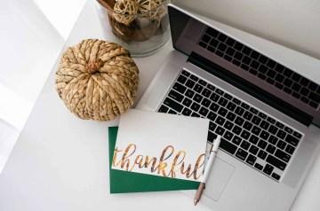 Practice gratitude every day