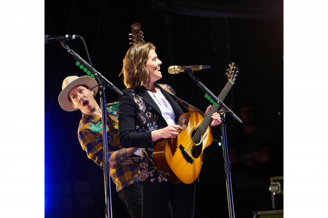 Brandi Carlile and Tim Hanseroth 2 062919
