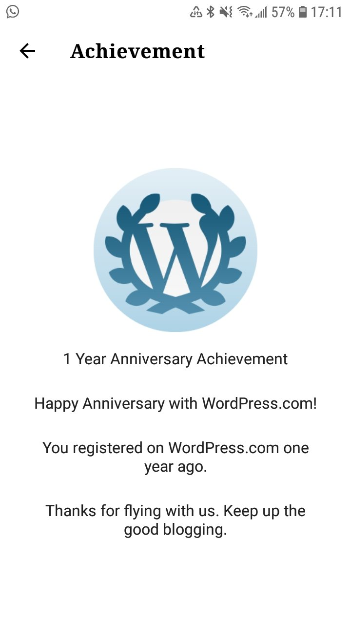 Eighth Month Theme: Blogversary, Second Shot, and News