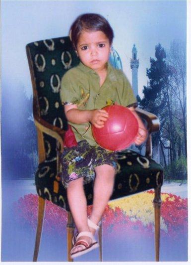 Asma as a child
