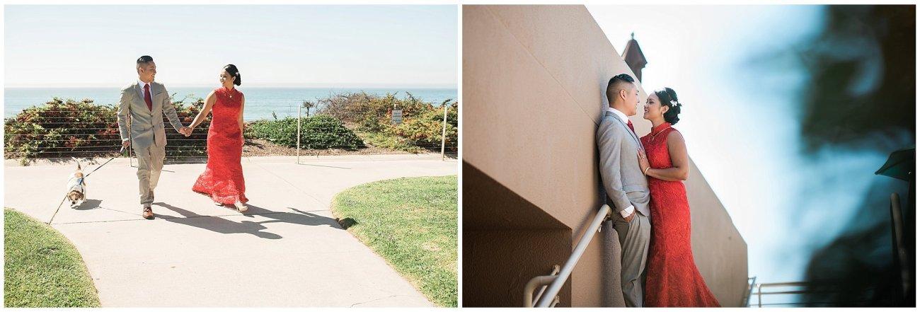 Ha & Allen Wedding Third Element Photography & Cinema Pismo Beach Cliffs Resort Central Coast Hybrid Film Wedding Photographer_0007