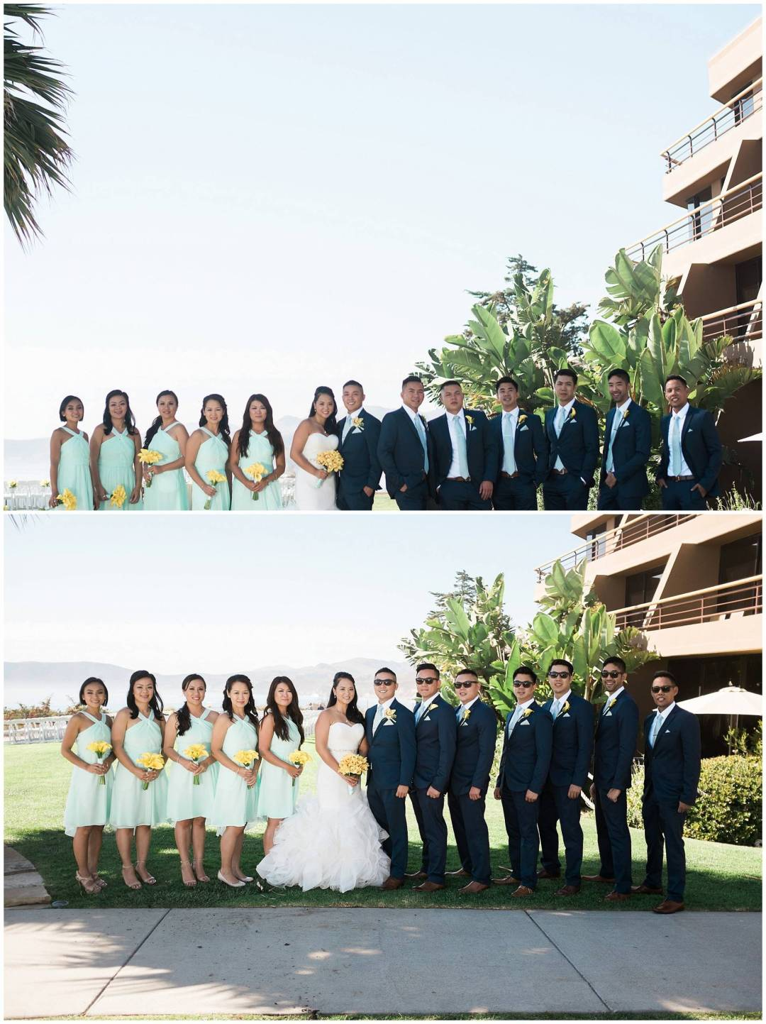 Ha & Allen Wedding Third Element Photography & Cinema Pismo Beach Cliffs Resort Central Coast Hybrid Film Wedding Photographer_0018