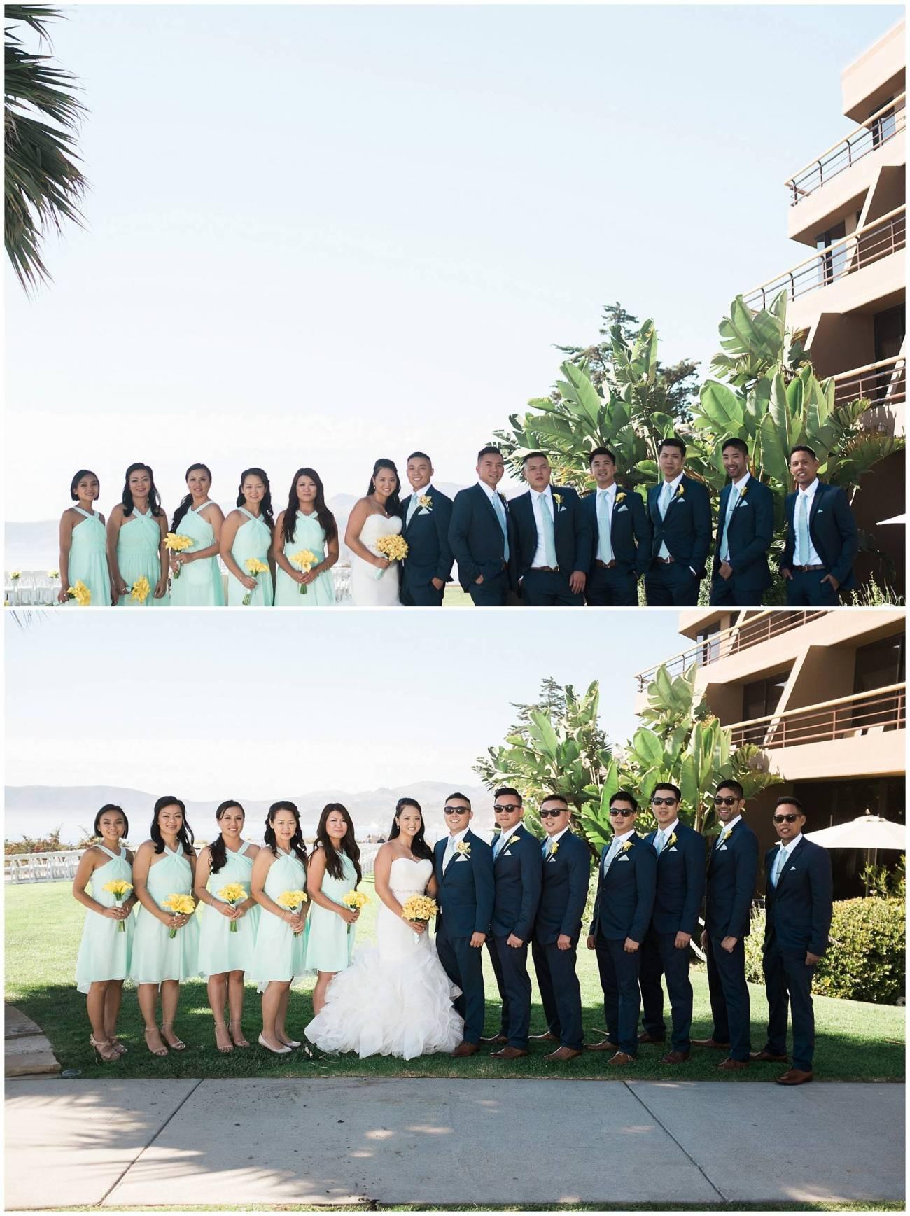 Ha & Allen Wedding Third Element Photography & Cinema Pismo Beach Cliffs Resort Central Coast Hybrid Film Wedding Photographer_0018