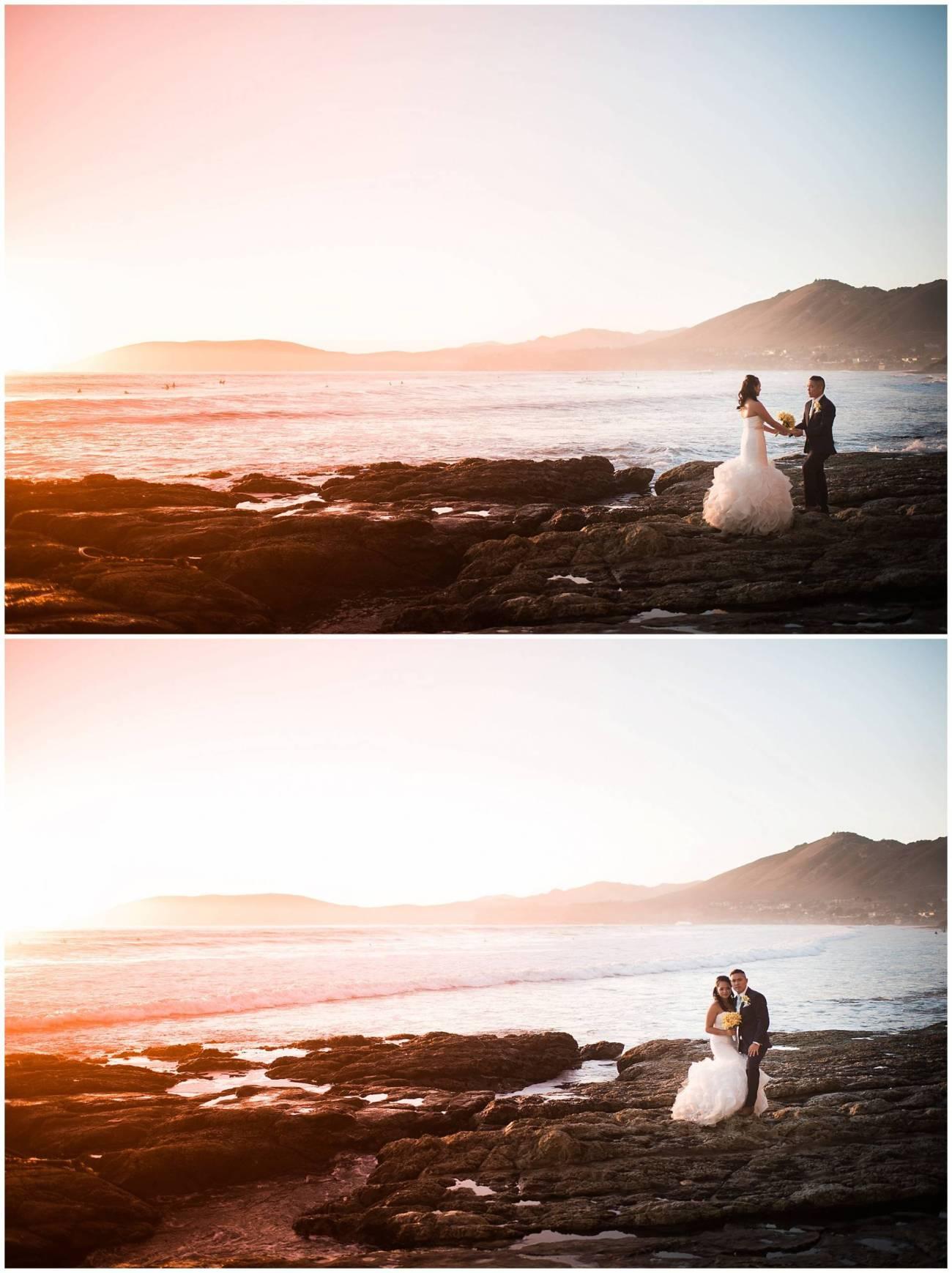 Ha & Allen Wedding Third Element Photography & Cinema Pismo Beach Cliffs Resort Central Coast Hybrid Film Wedding Photographer_0035
